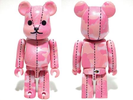 BAPE シリーズ3 ピンク ベアブリック(BE@RBRICK)