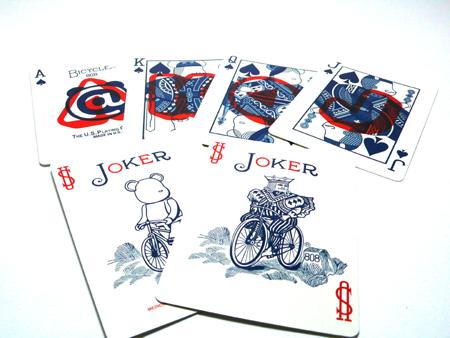 BE@RBRICK BICYCLE PLAYING CARDS POKER SET