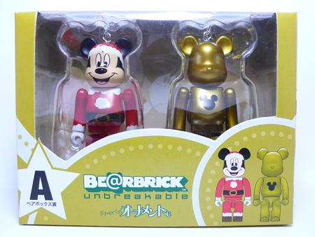 Specialくじ Disney ペアBOX A ベアブリック(BE@RBRICK)