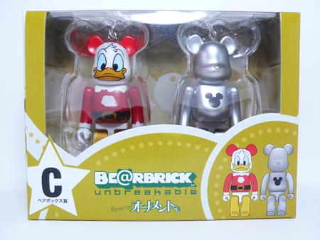 Specialくじ Disney ペアBOX C ベアブリック(BE@RBRICK)
