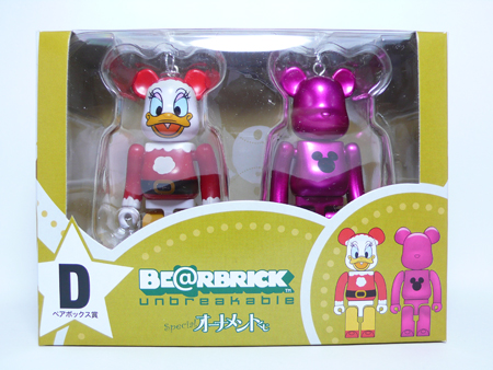 Specialくじ Disney ペアBOX D ベアブリック(BE@RBRICK)