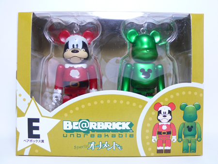 Specialくじ Disney ペアBOX E ベアブリック(BE@RBRICK)