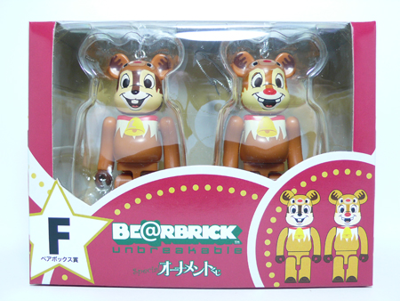 Specialくじ Disney ペアBOX F ベアブリック(BE@RBRICK)