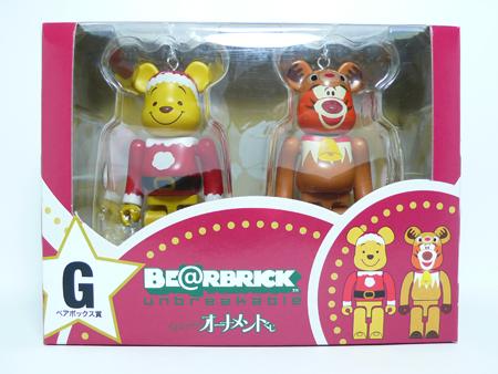 Specialくじ Disney ペアBOX G ベアブリック(BE@RBRICK)