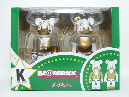 Specialくじ Disney ペアBOX K ベアブリック(BE@RBRICK)