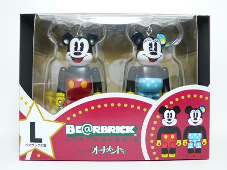 Specialくじ Disney ペアBOX L ベアブリック(BE@RBRICK)