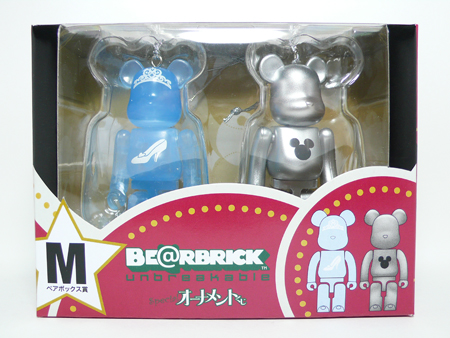 Specialくじ Disney ペアBOX M ベアブリック(BE@RBRICK)