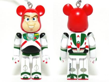 Specialくじ Disney バズ・ライトイヤー クリスマス ver ベアブリック(BE@RBRICK)