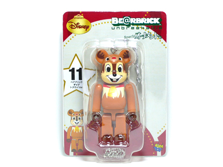 Specialくじ Disney チップ サンタ ver ベアブリック(BE@RBRICK)