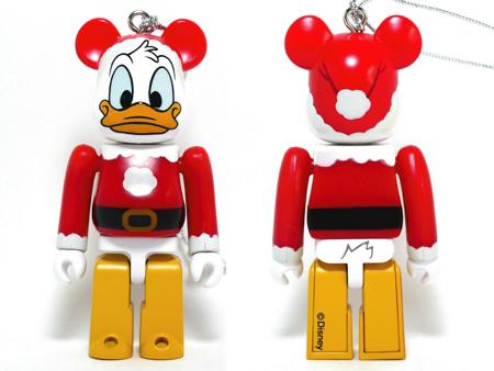 Specialくじ Disney ドナルドダック サンタ ver ベアブリック(BE@RBRICK)