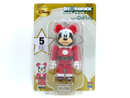 Specialくじ Disney グーフィー サンタ ver ベアブリック(BE@RBRICK)