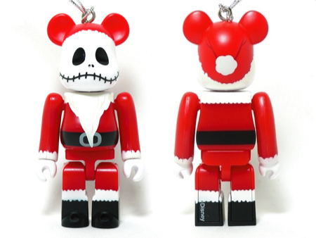 Specialくじ Disney ジャック・スケリントン サンタ ver ベアブリック(BE@RBRICK)