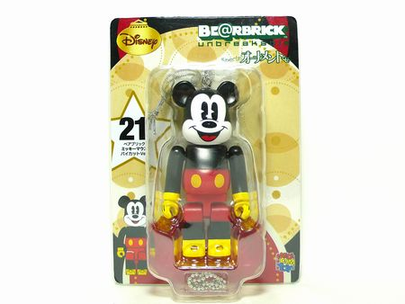 Specialくじ Disney MICKEY MOUSE パイカット ver ベアブリック(BE@RBRICK)