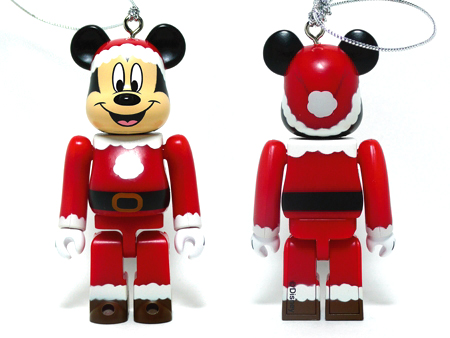 Specialくじ Disney MICKEY MOUSE サンタ ver ベアブリック(BE@RBRICK)