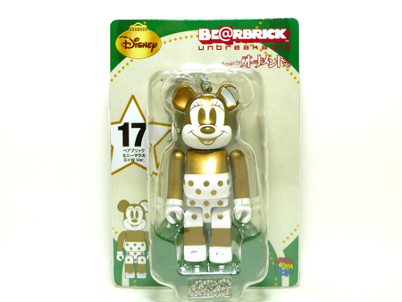 Specialくじ Disney MICKEY MOUSE G&W ver ベアブリック(BE@RBRICK)