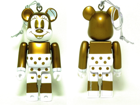 Specialくじ Disney MINNIE MOUSE G&W ver ベアブリック(BE@RBRICK)
