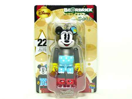 Specialくじ Disney MINNIE MOUSE パイカット ver ベアブリック(BE@RBRICK)