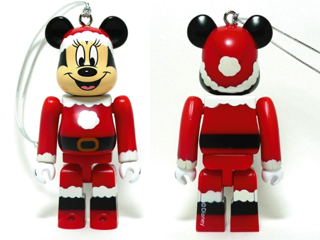 Specialくじ Disney MINNIE MOUSE サンタ ver ベアブリック(BE@RBRICK)