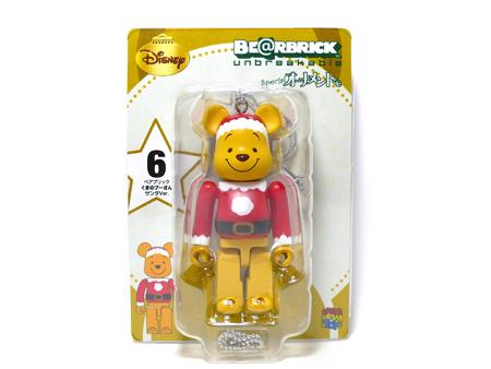 Specialくじ Disney プーさん サンタ ver ベアブリック(BE@RBRICK)