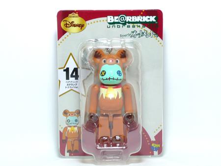 Specialくじ Disney スクランプ トナカイ ver ベアブリック(BE@RBRICK)
