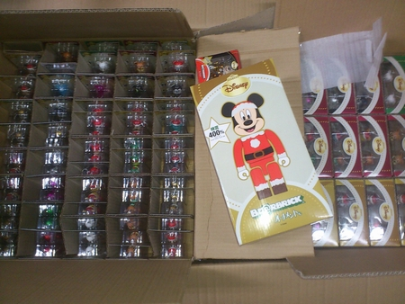 Specialくじ Disney 31種 100% ベアブリック(BE@RRICK) & MICKEY MOUSE 400% ベアブリック(BE@RBRICK)