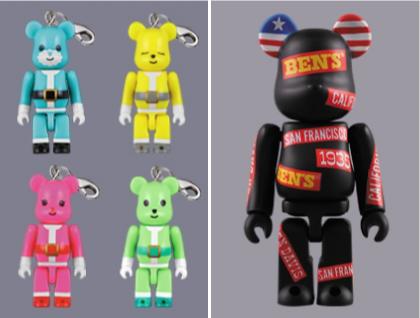 12/5 発売のベアブリック(BE@RBRICK) -X'mas 2009 & 超合金 200% International Love Heart & ベアサンタ 2009 50% & BEN DAVIS-