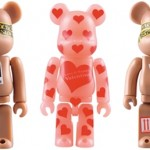1/30 発売のベアブリック(BE@RBRICK) -Valentine 2010 & BMW Studio ONE 50% 100% & STAPLE 100% 400%-