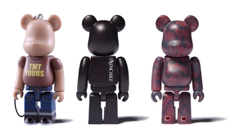 4/24 発売のベアブリック(BE@RBRICK) -TMT 10th & Invincible 100%-