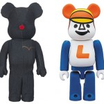 12/1 発売のベアブリック(BE@RBRICK) -Levi's SPECIAL MODEL 1000% & LAUNDRY BOY