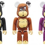 12/10 発売のベアブリック(BE@RBRICK) – X-large STUPID FACE 100% 400% & A cycle BAL & CLOT Silk 400%