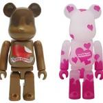 1/29 発売のベアブリック(BE@RBRICK) – 1/6計画限定 Valentine 2011 & Valentine 2011
