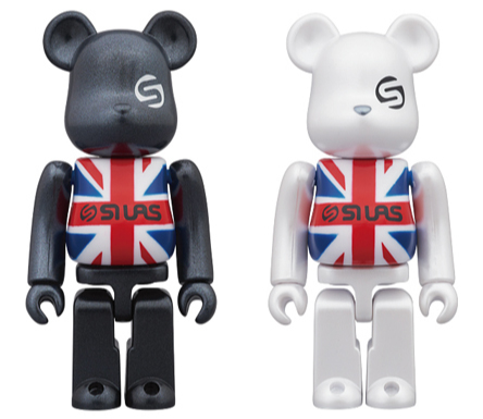4/29 発売のベアブリック(BE@RBRICK)【その1】 - SILAS UNION JACK BLACK / WHITE ver. & GETTRY LOLLI POP & Kinetics KIKS TYO -
