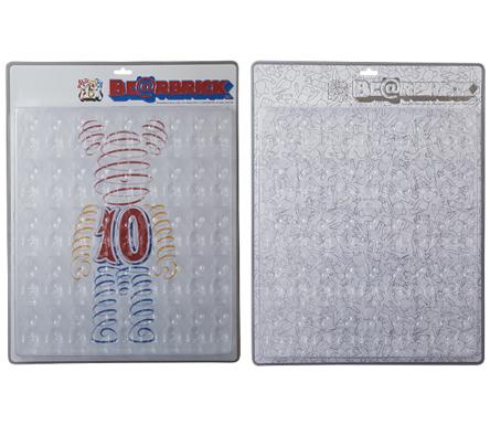 8/27 発売のベアブリック(BE@RBRICK) ブリスターボード -50%専用 & 70%専用 & 100%専用 15周年記念 ver & 100%専用 リニューアル ver-