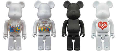 12/24 発売のベアブリック(BE@RBRICK) -MY FIRST B@BY MCT 15th Anniversary 100% 400% & DRY CARBON 400% & 超合金 200% BIANCO-