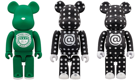 4/28 発売のベアブリック(BE@RBRICK) -POLKA DOT 100% 400% & House Of Pain 400%-