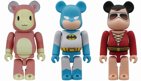 7/29 発売のベアブリック(BE@RBRICK) -りのん & BATMAN DC COMIC & PLASTIC MAN-