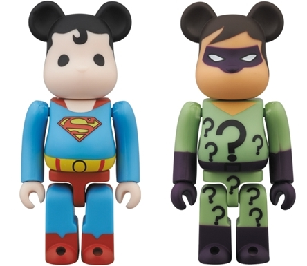 7/28 発売のベアブリック(BE@RBRICK) -SUPERMAN DC COMIC & RIDDLER DC COMIC-