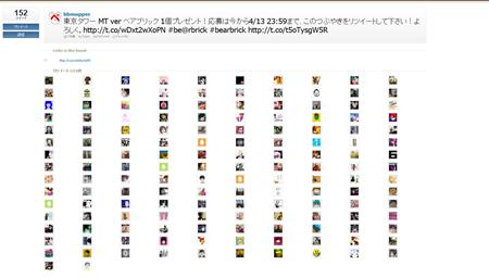 東京タワー MAGIC TIME Ver ベアブリック 1名様へのプレゼントに100名以上の応募が来ちゃったよ!