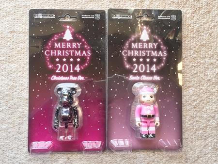 ベアークリスマス 2014 ベアブリックプレゼント 【当選者発表】