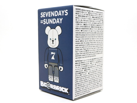 SEVENDAYS=SUNDAY 100% ベアブリック (BE@RBRICK)