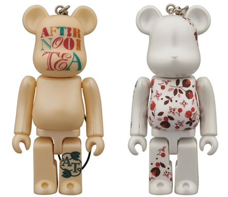 Afternoon Tea flower Ver & Logo Ver ベアブリック(BE@RBRICK)