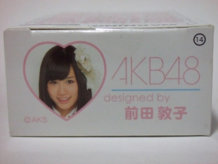 AKB48 前田敦子 100% ベアブリック(BE@RBRICK)
