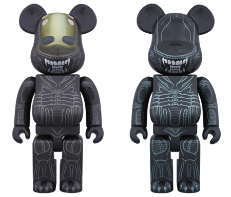 ALIEN / WARRIOR ALIEN 400% ベアブリック (BE@RBRICK)