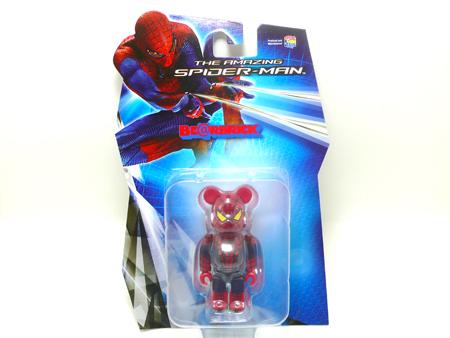 アメイジング スパイダーマン 100% 400% ベアブリック(BE@RBRICK)