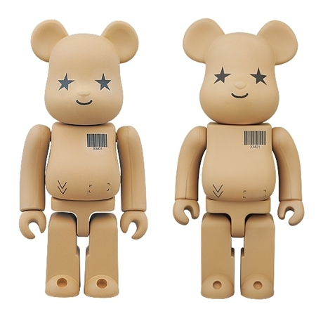 Amazon.co.jp ver 100% 400% ベアブリック (BE@RBRICK)