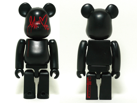And A Love Me BLACK ベアブリック(BE@RBRICK)