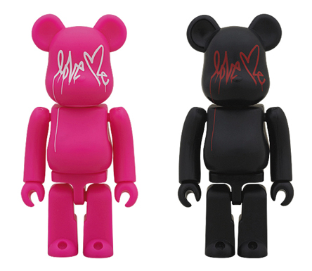 And A Love Me 2種 ベアブリック(BE@RBRICK)