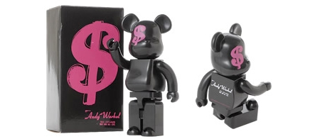Andy Warhol HYSTERIC GLAMOUR 400% ベアブリック(BE@RBRICK)