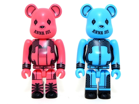 ANNA SUI 2014 100% 2種 ベアブリック (BE@RBRICK)