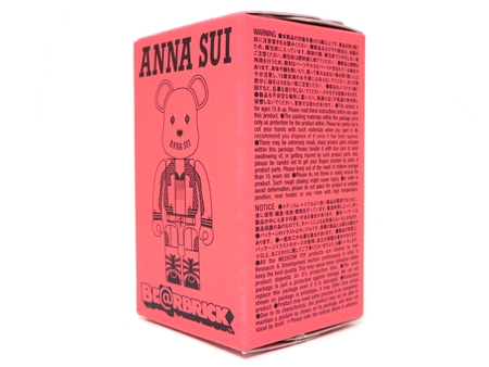 ANNA SUI 2014 100% ピンク ベアブリック (BE@RBRICK)